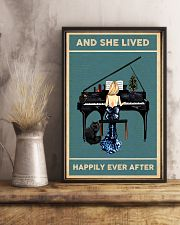 She Lived Happily Ever - Piano 11x17 Poster lifestyle-poster-3