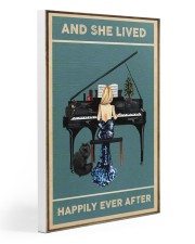 She Lived Happily Ever - Piano Gallery Wrapped Canvas Prints tile