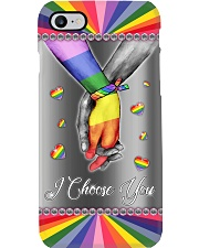 LGBT - I Choose You Phonecase Phone Case i-phone-8-case