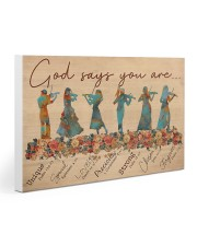 Violin - God Says You Are 30x20 Gallery Wrapped Canvas Prints thumbnail