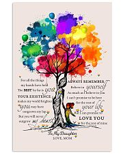 LGBT - To My Daughter 11x17 Poster front