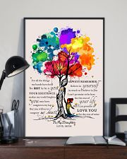 LGBT - To My Daughter 11x17 Poster lifestyle-poster-2