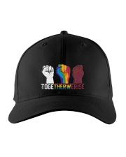 LGBT Togetherwerise Embroidered Hat front
