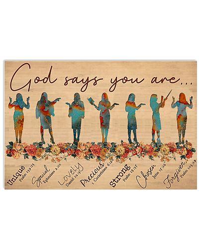 Teacher God Says You Are