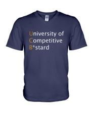 University of Competitive Bstard V-Neck T-Shirt thumbnail