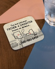 LOVE BETWEEN FATHER AND DAUGHTER NEW YORK ARIZONA Square Coaster aos-homeandliving-coasters-square-lifestyle-01