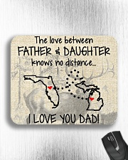 LOVE BETWEEN FATHER AND DAUGHTER MICHIGAN FLORIDA Mousepad aos-mousepad-front-lifestyle-4