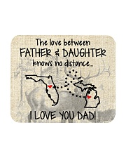 LOVE BETWEEN FATHER AND DAUGHTER MICHIGAN FLORIDA Mousepad front