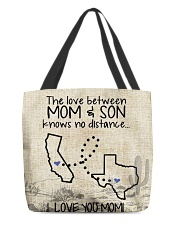 MOM AND SON TEXAS CALIFORNIA All-Over Tote tile