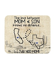 MOM AND SON TEXAS CALIFORNIA Mousepad tile
