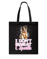 Australian Shepherd Sparkle 120318 Tote Bag thumbnail