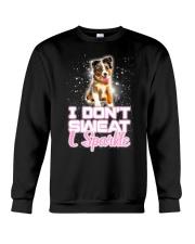 Australian Shepherd Sparkle 120318 Crewneck Sweatshirt thumbnail