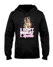 Australian Shepherd Sparkle 120318 Hooded Sweatshirt thumbnail