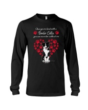 Border Collie Live With Border Collie 030318 Long Sleeve Tee thumbnail
