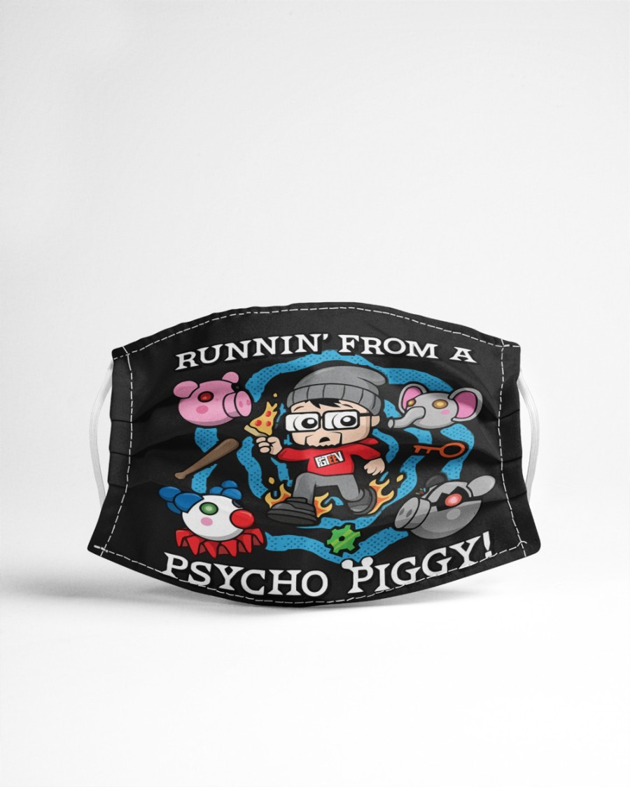 Face Mask Fgteev Merch Uk Psycho Piggy