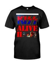 KISS ALIVE II ALBUM COVER Classic T-Shirt front