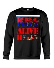KISS ALIVE II ALBUM COVER Crewneck Sweatshirt thumbnail