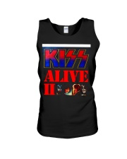 KISS ALIVE II ALBUM COVER Unisex Tank thumbnail