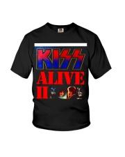 KISS ALIVE II ALBUM COVER Youth T-Shirt thumbnail