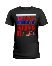 KISS ALIVE II ALBUM COVER Ladies T-Shirt thumbnail