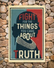 Fight for the things you care about truth 11x17 Poster aos-poster-portrait-11x17-lifestyle-15