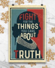 Fight for the things you care about truth 11x17 Poster aos-poster-portrait-11x17-lifestyle-25