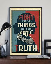 Fight for the things you care about truth 11x17 Poster lifestyle-poster-2