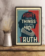 Fight for the things you care about truth 11x17 Poster lifestyle-poster-3