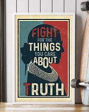 Fight for the things you care about truth 11x17 Poster lifestyle-poster-4