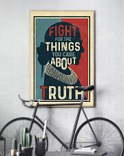 Fight for the things you care about truth 11x17 Poster lifestyle-poster-7