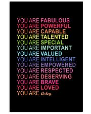 You are 11x17 Poster front