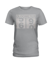 Oldometer 60 Ladies T-Shirt thumbnail