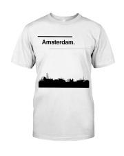 Amsterdam Skyline Classic T-Shirt front