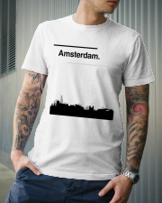Amsterdam Skyline Classic T-Shirt lifestyle-mens-crewneck-front-6