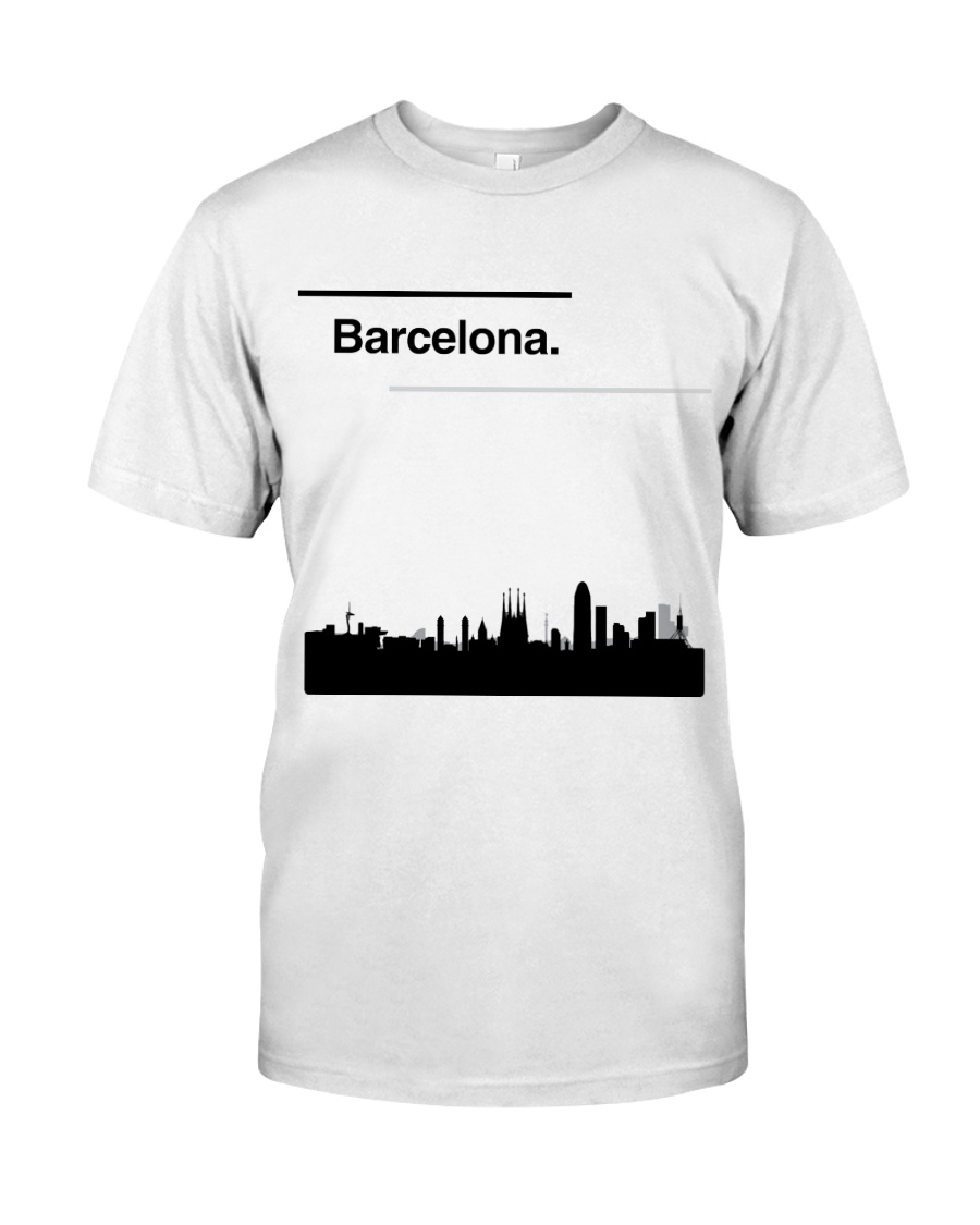 Barcelona Skyline Classic T-Shirt