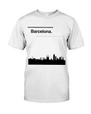 Barcelona Skyline Classic T-Shirt front