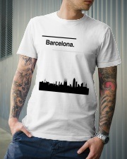 Barcelona Skyline Classic T-Shirt lifestyle-mens-crewneck-front-6