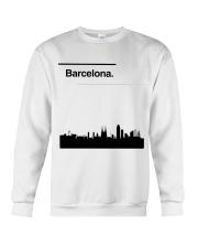 Barcelona Skyline Crewneck Sweatshirt thumbnail