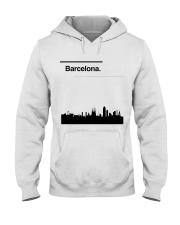 Barcelona Skyline Hooded Sweatshirt thumbnail