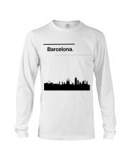 Barcelona Skyline Long Sleeve Tee thumbnail