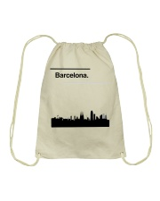 Barcelona Skyline Drawstring Bag thumbnail