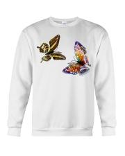 I Love My Butterfly T-Shirt Crewneck Sweatshirt thumbnail
