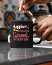 Happiness Is Watching Gunsmoke Mug Mug ceramic-mug-lifestyle-60