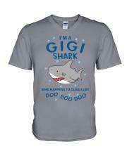 Gigi Shark - Special Edition V-Neck T-Shirt thumbnail