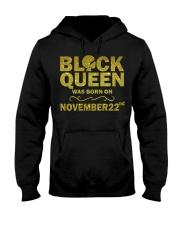 Black Queen November Hooded Sweatshirt thumbnail