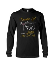 December Girl Over 60 And Living My Best Life Long Sleeve Tee thumbnail