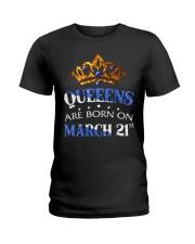 MARCH QUEEN Ladies T-Shirt front