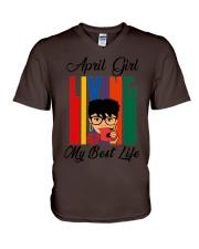 April Girl - Special Edition V-Neck T-Shirt thumbnail