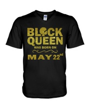 May 22nd V-Neck T-Shirt thumbnail
