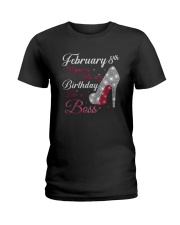 February-8th Ladies T-Shirt front